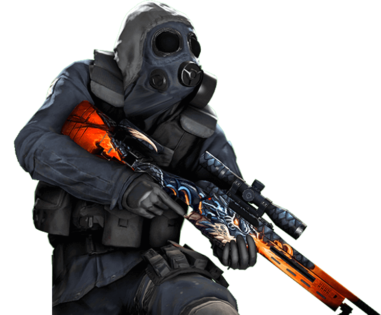 CSGO sniper player