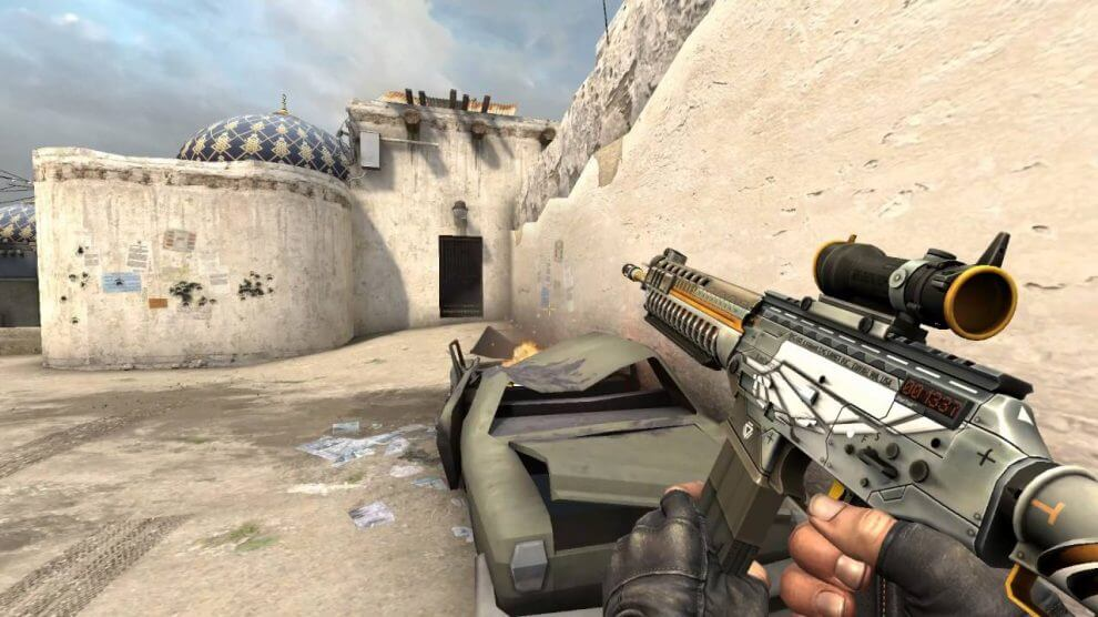 CSGO SG553 weapon