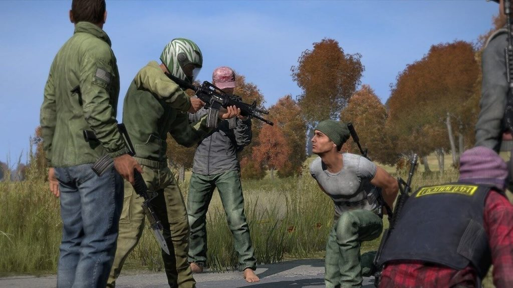 kidnapping in DayZ steam
