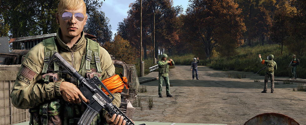 DayZ Standalone players in-game