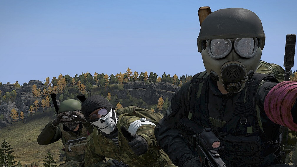 Selfie photo in DayZ