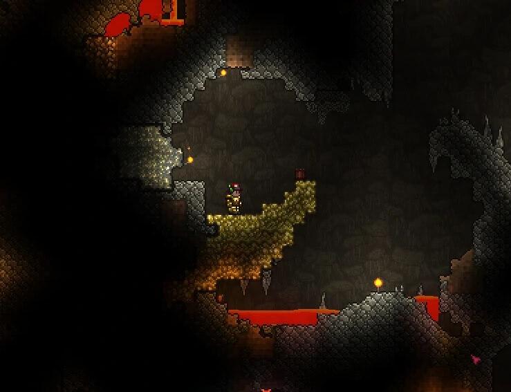Gold ore Terraria