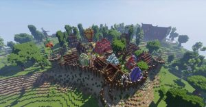 Minecraft faction server with plugins