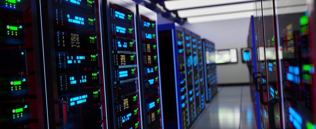 PEDataCenter server room