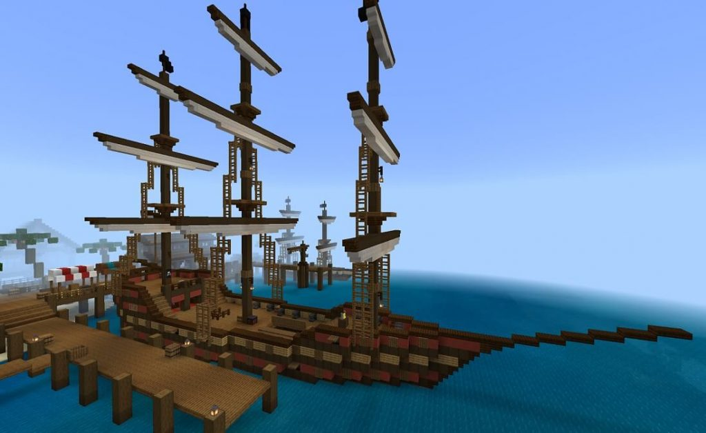 MC pirate ship