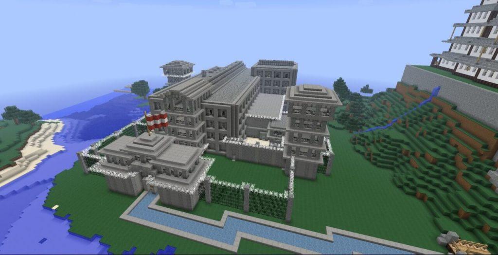 prison Minecraft map