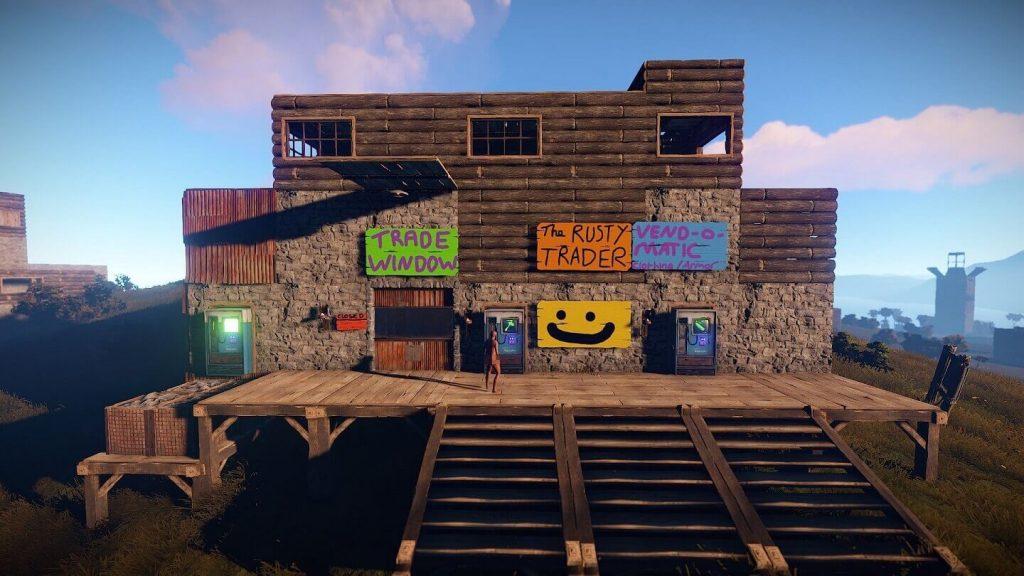 Rust shelter build on linux server