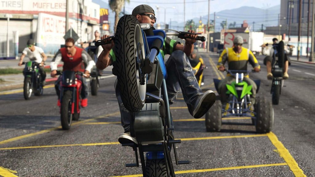 Sanchez bike NoPixel RP server